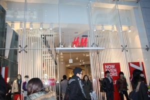 H&M i Harajuku, världens ovärdaste!