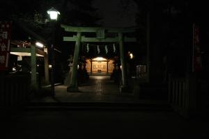 Tempelingången.